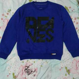 Sweater D'Caves Biru