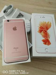 Iphone 6s Rosegold 9.9/10