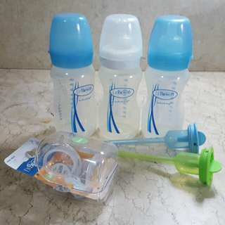 Dr. Brown's Natural Flow Feeding Bottles (Options)
