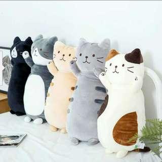 (PO) Lovely Meow Cat Cushion/Bolster