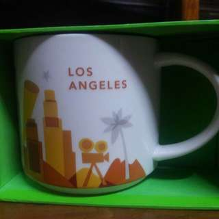 Los Angeles Starbucks YAH You Are Here Mug with sku