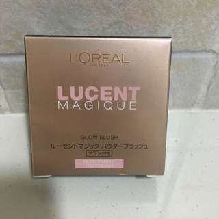 Brand New & sealed L'Oréal Paris Lucent Magique Mono Blush C4 Earthy Coral