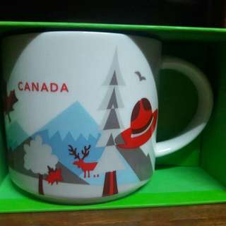 Canada Starbucks YAH You Are Here Mug with sku