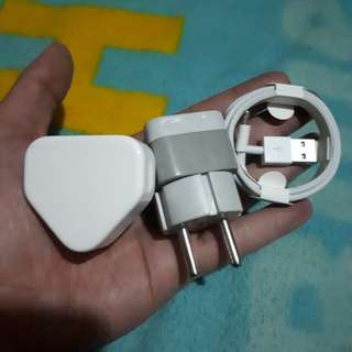 Charger iPhone kaki 3 Inter Siap Pake
