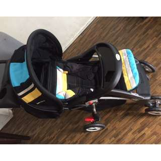 Sweet Cherry Baby Stroller - Like New and very good condition.