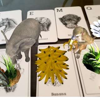 4D Animal/Occupation Education Flash Card (free shipping)