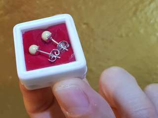 卍Buddha Dzi relics earrings卍
