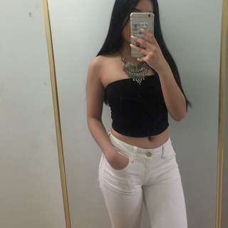 AE White Jeans