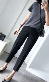 (PO) Women slim long pant.