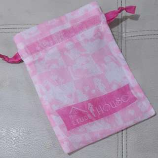 Etude House Pink Make Up Pouch
