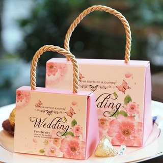 Wedding Favour/ Candy Box/ Berkat