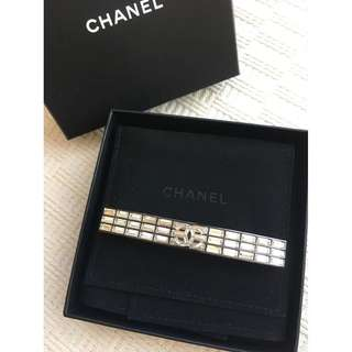 Chanel  hair clip decorated with Swarovski crystal  *Made in France*