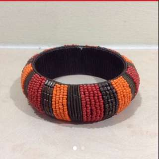 $39 Free-size Hand-made Bright Sunset Bracelet From London (Brand New )