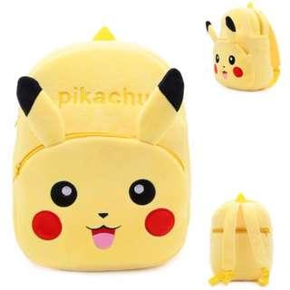 Pikachu Pokemon Soft Kids Bag