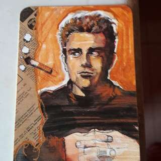 1991 James Dean 年曆卡