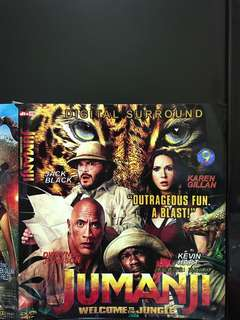 Dvd English movie, Jumanji : Welcome To The Jungle