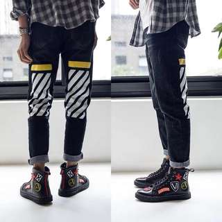 2018 spring high personality shoes men's Korean fashion shoes wild to help hip-hop British tide shoes student shoes