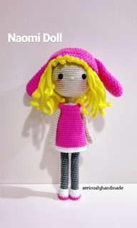 Naomi the bunny girl amigurumi / Crochet Doll