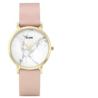 (兩色)CLUSE La Roche Petite gold and marble watch