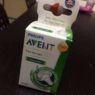 Avent essential teat +6