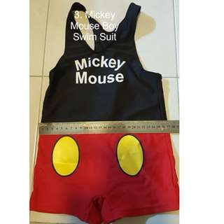 Mickey Mouse Boy Swim Suit #Bajet20