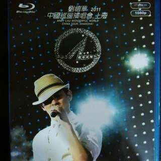 Andy lau World tour Blu Ray concert