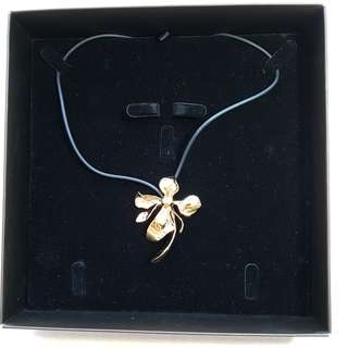 Pendant - Gold Plated Vanda Orchid