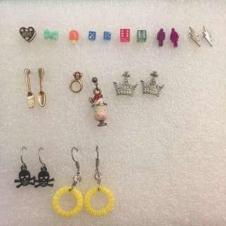 Earrings Set 耳環Set