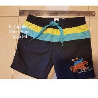 Topolino Short Pant Size 98 #Bajet20