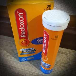 BNIB Brand New REDOXON Double Action (Vitamin C & Zinc) 15 Tablets