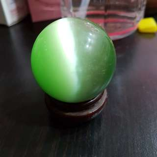 Fengshui Green crystal ball