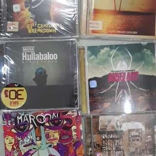 CD Musik Assorted Impor & Lokal