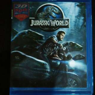 Jurassic world Blu Ray movie