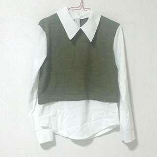 🔥 $2 OFF 🔥School-like blouse