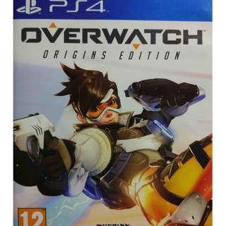 Used Playstation 4 PS4 Overwatch Origins Edition Region 2 (NEAREST MRT)