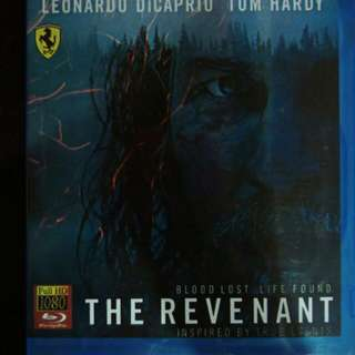 The revenant Blu Ray movie