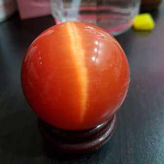 Fengshui Orange crystal ball
