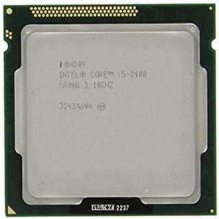 Intel CPU i5-2400 3.1 ghz