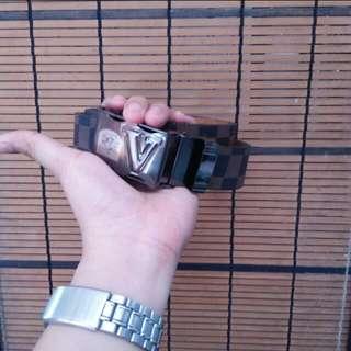 Louis Vuitton inspired belt