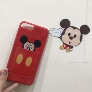 🚚 Iphone7plus 米奇口袋手機殼