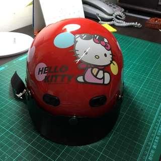 僅此一頂全新安全帽便宜賣!Kitty安全帽附鏡片