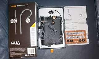 RHA ma750 入耳式耳機 耳筒 耳塞