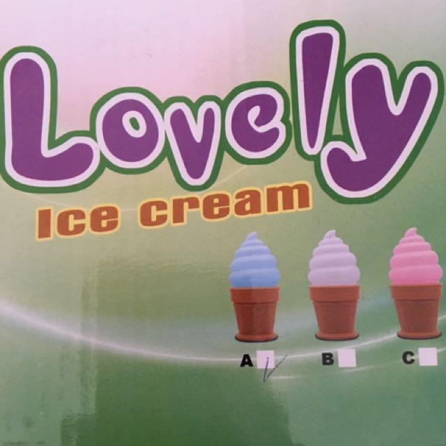 冰淇淋小檯燈