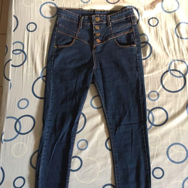 (二手)高腰牛仔褲