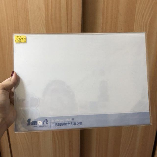 透明壓克力展示框(大號)