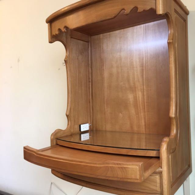 吊櫃式神明櫥 壁掛神桌 掛壁公媽櫥 吊壁佛桌
