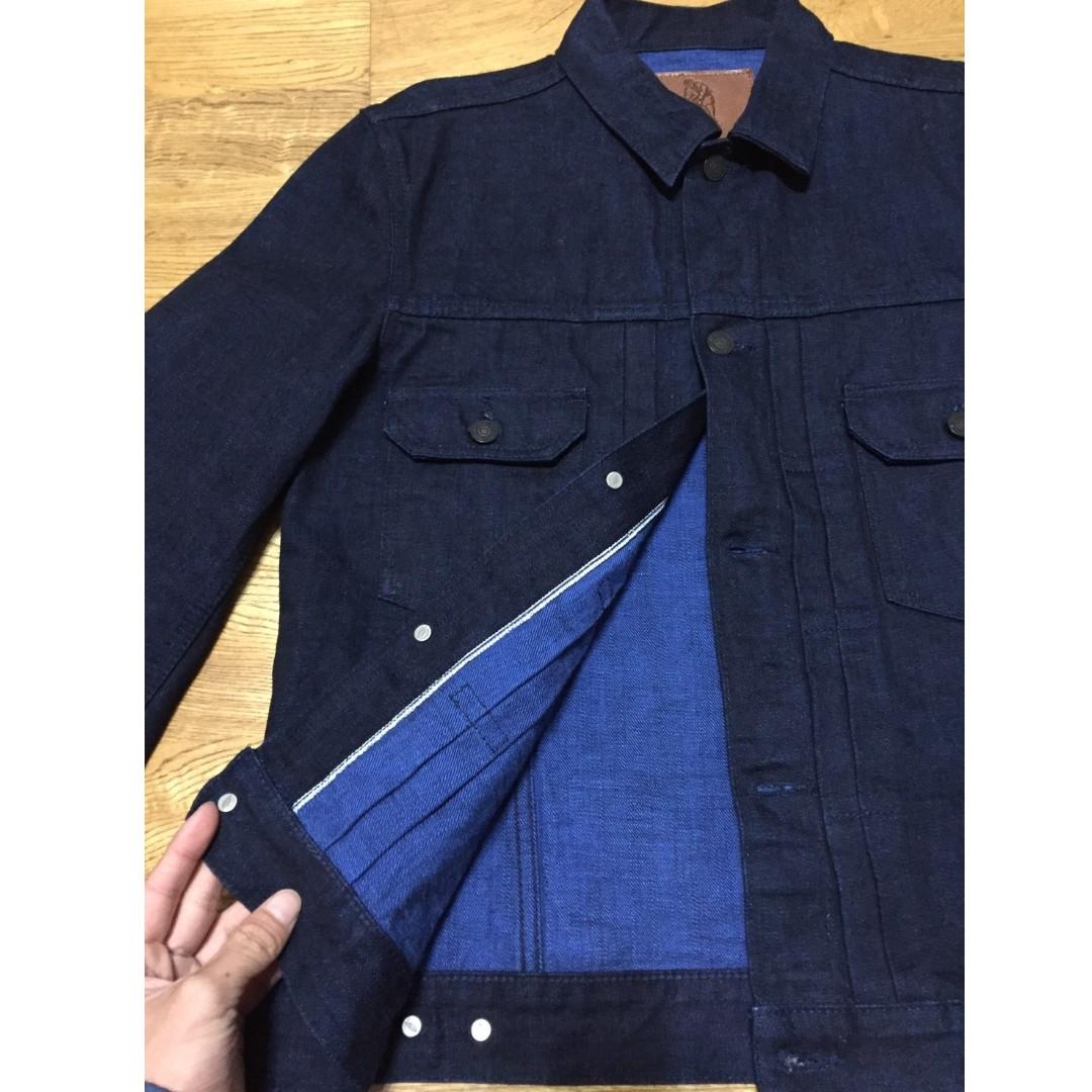 日本製 pure blue japan 14oz Cobalt Denim Type II 二代 牛仔 外套 單寧 丹寧