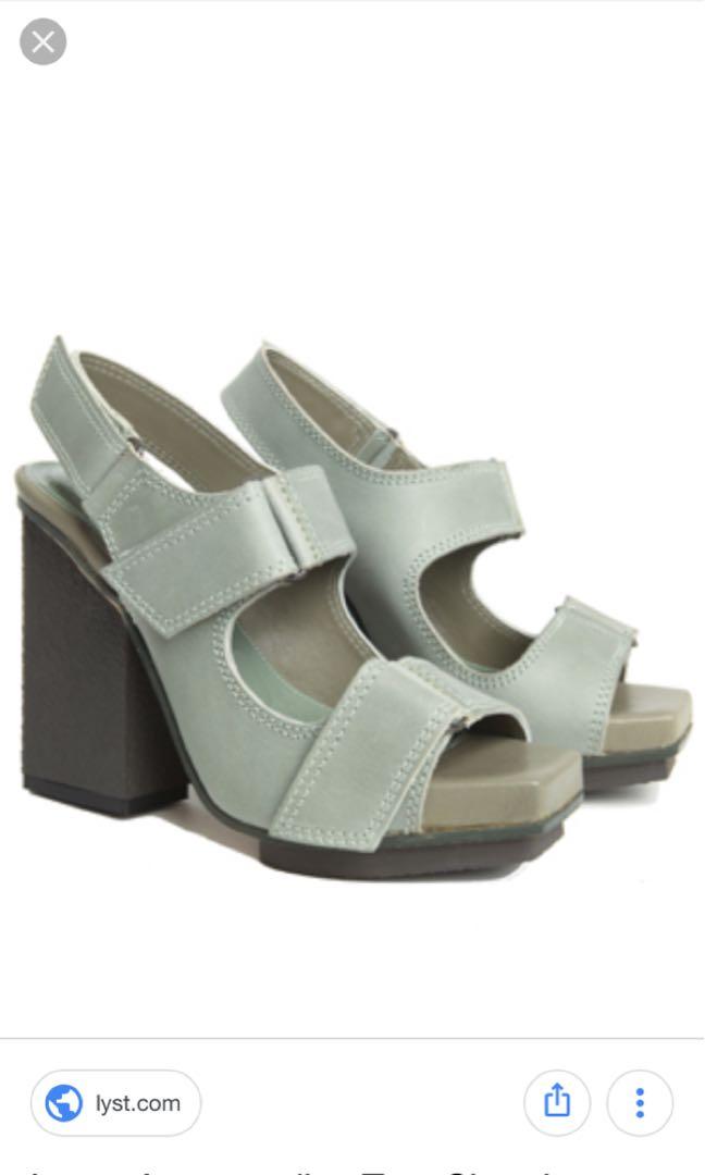 Acne Velcro heels sz 39