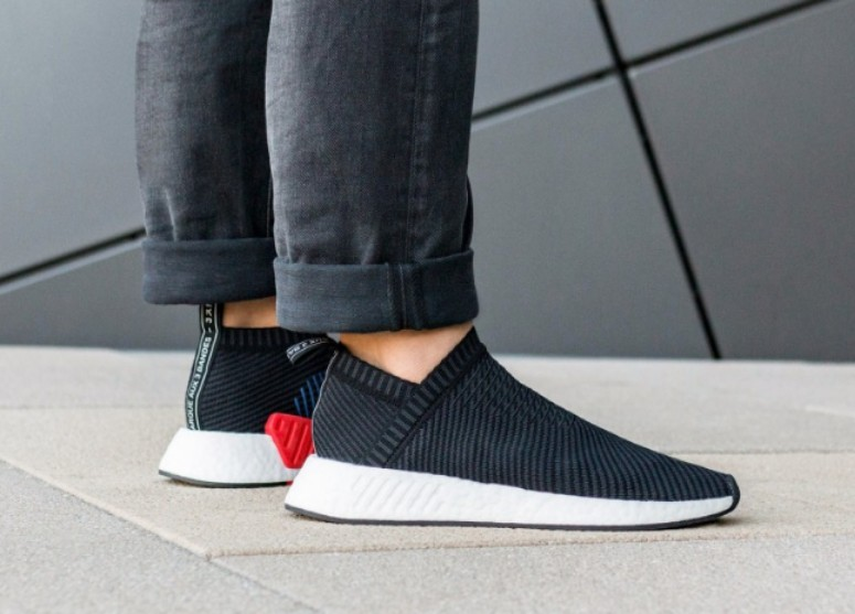 Adidas NMD CS2 PK Black Carbon and Red, Men's Fashion
