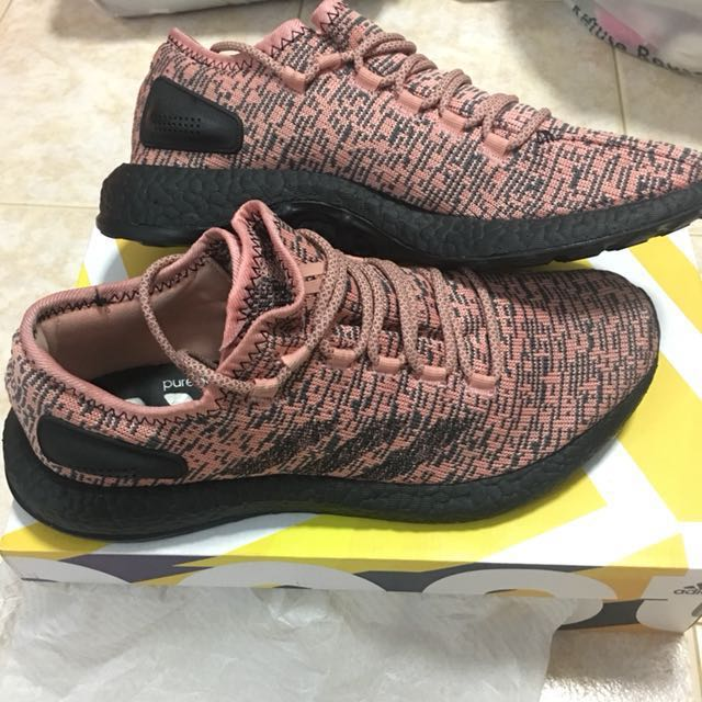 53ab67260 Adidas Pureboost 4.0 Salmon Colorway on Carousell